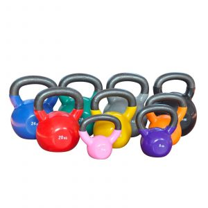 Vinyl Kettlebells (various weights)