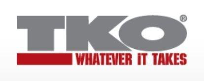 TKO Gym Equipment Logo