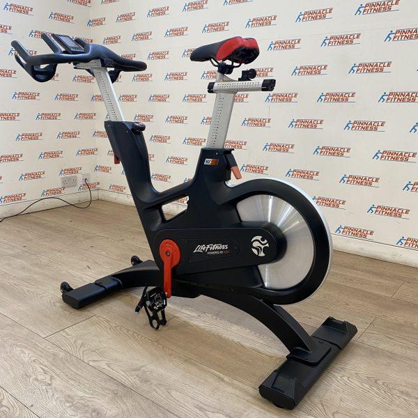 Life Fitness IC7 Indoor Studio Bike with TFT Watt Rate Monitor Rev2 Refurbished