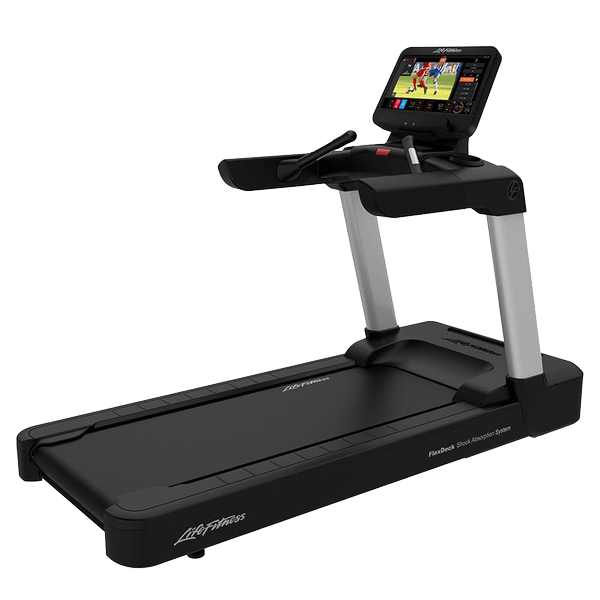 Life Fitness Integrity Series Treadmill Discover ST Arctic White Simple Base