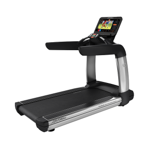 Life Fitness Elevation Series Treadmill Discover ST Arctic Silver