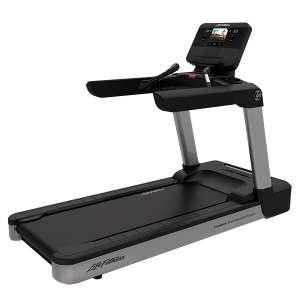 Life Fitness Integrity Series Treadmill X Console Arctic Silver Deluxe Base