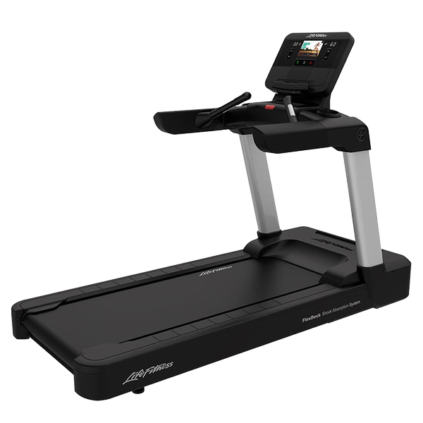Life Fitness Integrity Series Treadmill X Console Arctic Silver Simple Base