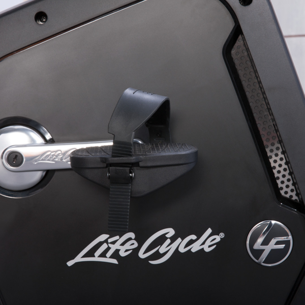 Life Fitness Integrity Series Lifecycle Recumbent Bike Pedal Detail