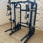 Dual-Pulley-Smith-Machine-Power-Rack-Combo-by-Blitz-Fitness-New-184383544870
