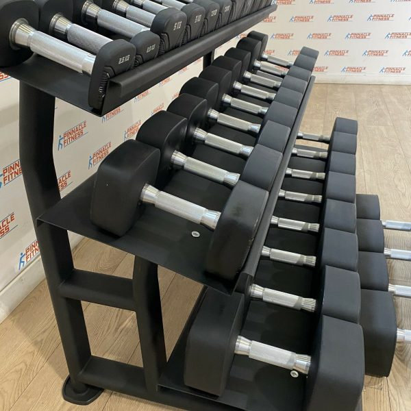 Square dumbbell set