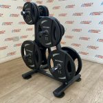 Olympic-Weight-Plates-Set-1075kg-w-Storage-Rack-by-Blitz-Fitness-New-184397864665