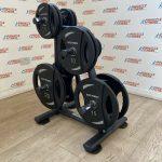 Olympic-Weight-Plates-Set-1075kg-w-Storage-Rack-by-Blitz-Fitness-New-184397864665