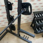 Half-Rack-Dumbbells-Olympic-Bar-Bumper-Plate-Package-by-Blitz-Fitness-New-184397819057-11